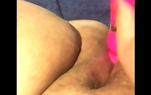 Virgin plays with pussy