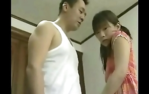 Japanese Real Father Fuck His Own Daughter -- Sexy Japanese Schoolgirl Fucked Approximately Home