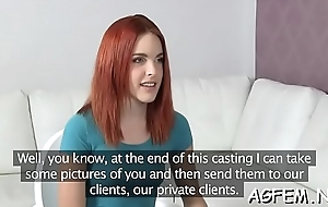 Lovely female agent lastly receives a portion of coarse fucking