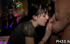 Waiters fucking bitches in their wholes with successfully jock in hot poses