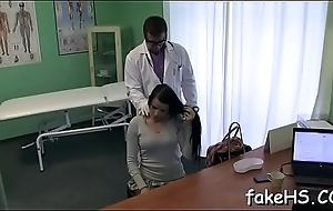 Excited doctor loves when her cunt is screwed mercilessly