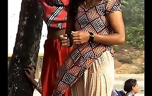 Desi Maid Only of two minds Clothes After River Bath