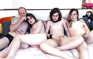 Shemale threesome Webcams