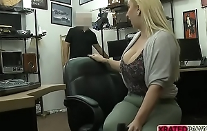 Busty Nina Kayy gets her fat ass and pussy pounded