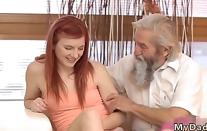 Dreads blowjob and new bra Unexpected practice relative to an older gentleman
