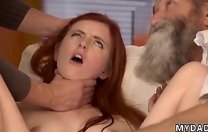 Hairy old granny anal Unexpected practice with an older gentleman