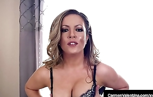 Sex Craved Carmen Valentina Is Pounded By A Big Hard Cock!
