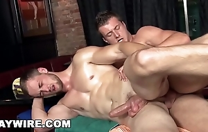 GAYWIRE - Ivo and Samuel Engage In Homosexual Activity After Morose Massage