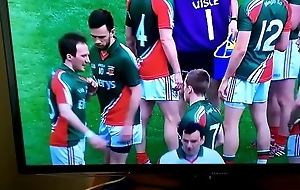 Cork player pisses insusceptible to Croke Park pitch