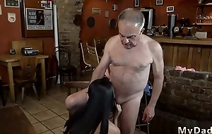 Sweeping tied up and fucked by two guys czech old Can you trust your