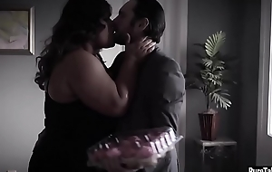 Cute busty fat woman banged by a horny cheating guy