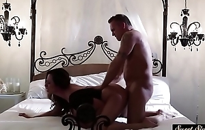 Glamcore MILF gets banged from behind