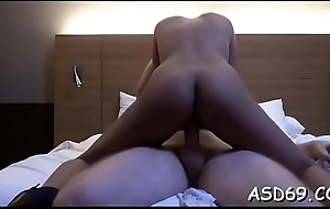 Luscious thai girlfriend with a nice-looking wazoo enjoys pounding
